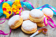 Berliner Krapfen Royalty Free Stock Images