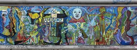 Berliner Mauer stockbild