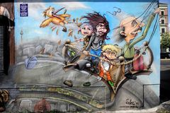 Berliner Mauer, Berlijn, Duitsland royalty-vrije stock afbeelding