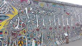 Berliner muur Royalty-vrije Stock Foto's