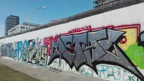 Berliner muur Stock Afbeeldingen