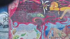 Berliner muur Stock Afbeelding