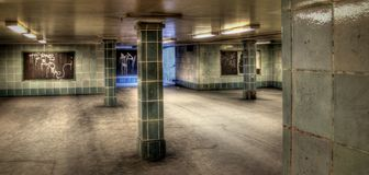 Berliner Urban City Art Perspective. S on life Royalty Free Stock Photos