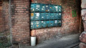 Berliner Urban City Art Perspective. S on life Stock Image