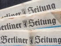 Berliner Zeitung Photo stock