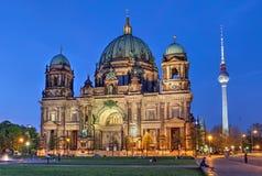 BerlinerDom, Berlin, Tyskland Royaltyfri Foto