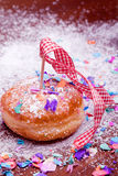Berlinese Pfannkuchen Fotografie Stock