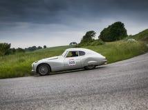 Berlinetta 1954 van FIAT 8V Stock Afbeelding