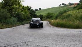 Berlinetta Vignale 1951 ФЕРРАРИ 340 Америки Стоковые Изображения