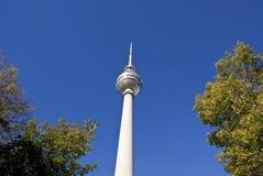 Berlinfernsehkontrollturm Lizenzfreies Stockfoto