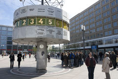 BERLINO - ALEXANDER PLATZ Fotografia Stock