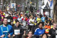 Mezza maratona di Berlino Fotografia Stock Libera da Diritti