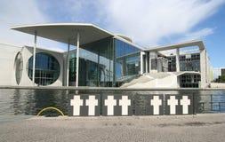 Berlino Bundestag Fotografia Stock Libera da Diritti