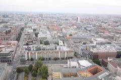 Berlino da sopra Immagine Stock