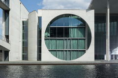Berlino, ders-Haus del ¼ Marie-Elisabeth-LÃ/di Bundeskanzleramt, Regierungsviertel Fotografia Stock