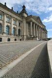 Berlino, edificio di Reichstag Fotografia Stock Libera da Diritti