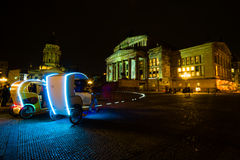 berlino Festival delle luci 2014 Fotografia Stock Libera da Diritti