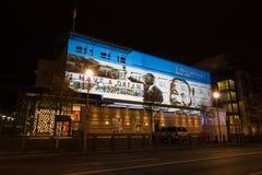 berlino Festival delle luci 2014 Fotografie Stock Libere da Diritti
