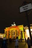 berlino Festival delle luci 2014 Immagini Stock Libere da Diritti