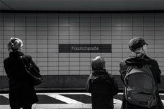 Berlino Friedrichstraße 02 - Berlino 07 2018 immagine stock