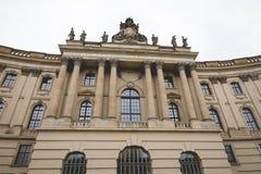 BERLINO, GERMANIA - DICEMBRE 06,2017: Università Berlino di Humboldt Fotografie Stock Libere da Diritti