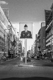 BERLINO, GERMANIA, il 10 maggio 2016, Checkpoint Charlie Fotografie Stock