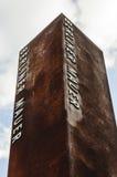 BERLINO, GERMANIA, il 10 maggio 2016, monumento del muro di Berlino Immagini Stock Libere da Diritti