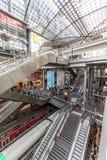 Berlino, Germania: La stazione centrale di Berlino (Hauptbahnhof) immagine stock libera da diritti