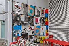 BERLINO, GERMANIA - LUGLIO 2015: La Bauhaus Archiv in Berlin German fotografia stock