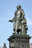 BERLINO, GERMANY/EUROPE - 15 SETTEMBRE: Monumento a Baron Freihe fotografie stock