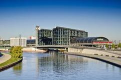 Berlino Hauptbahnhof Fotografia Stock