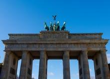 Berlino - la Germania - la porta di Brandeburgo Fotografie Stock Libere da Diritti