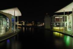 Berlino nella notte Fotografia Stock