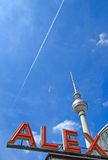 Berlins famous Alex Royalty Free Stock Image
