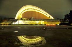 Berlin´s Haus der Kulturen der Welt at night Stock Image