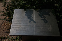 Berlins homosexuelles Denkmal Stockbild