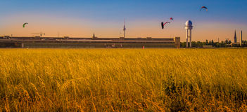 Berlins-Kathedralen-Sonnenuntergang Lizenzfreies Stockfoto