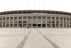 Berlins Olympia Stadium Stockfotografie