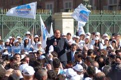 berlusconi ο πολιτικός Silvio Στοκ φωτογραφία με δικαίωμα ελεύθερης χρήσης