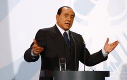 berlusconi Silvio Zdjęcie Stock