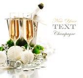Beröm för nytt år och jul Arkivbild