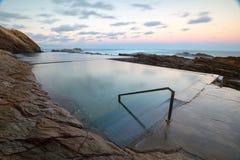 Bermagui Blauwe Pool stock foto