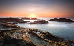 Bermagui Coast Australia Stock Photography