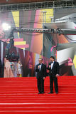Berman and Zhindarev at Moscow Film Festival Stock Images