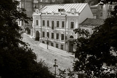 Andreevsky gata i Kiev, Ukraina Royaltyfria Bilder