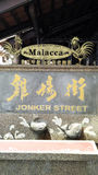 Berömd Jonker gata i kineskvarteret Malacca Royaltyfri Bild
