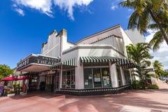 Berömd koloni Art Deco Theater Royaltyfri Bild