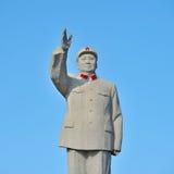 Berömd monument av ordföranden Mao Zedong Royaltyfri Foto
