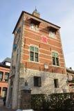 Berömda gränsmärken Belgien: Zimmer torn Arkivbilder