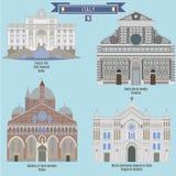 Berömda ställen i Italien Arkivfoton